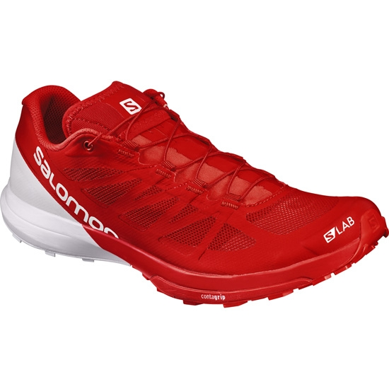 Salomon S-lab S-Lab Sense 6 - Racing Red/White