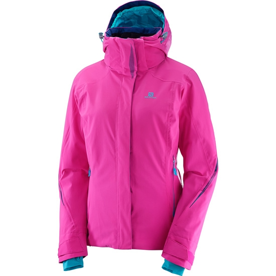 Salomon Brilliant Jacket W - Rose Violet