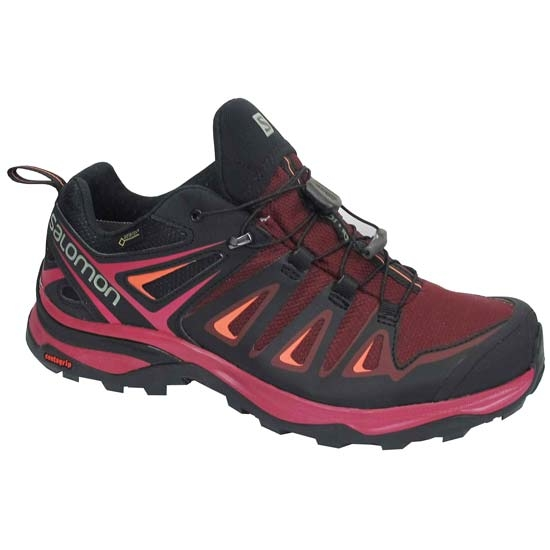 Salomon X Ultra 3 GTX W - Tawny Port/Black Living