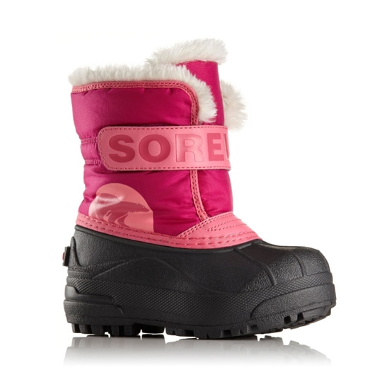 Sorel Snow Commander Childrens - Tropic Pink/Deep Blush