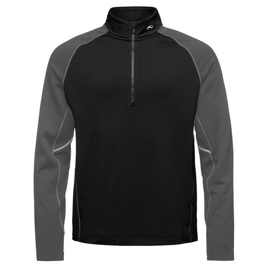Kjus Diamond Fleece HalfZip - Black