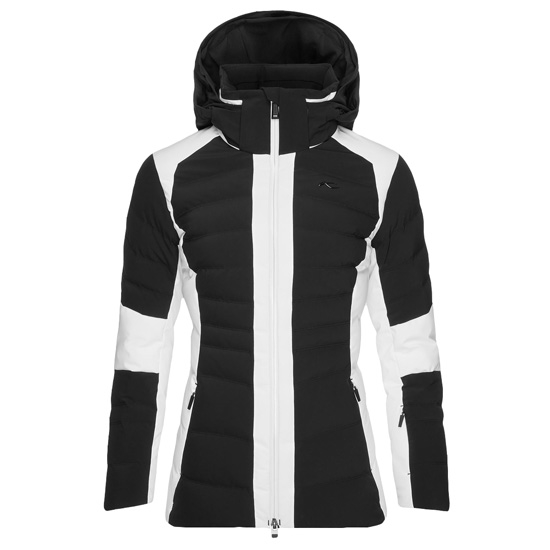 Kjus Duana Jacket W - Black/White