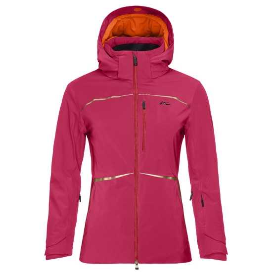 Kjus Formula Jacket W - Persian Red