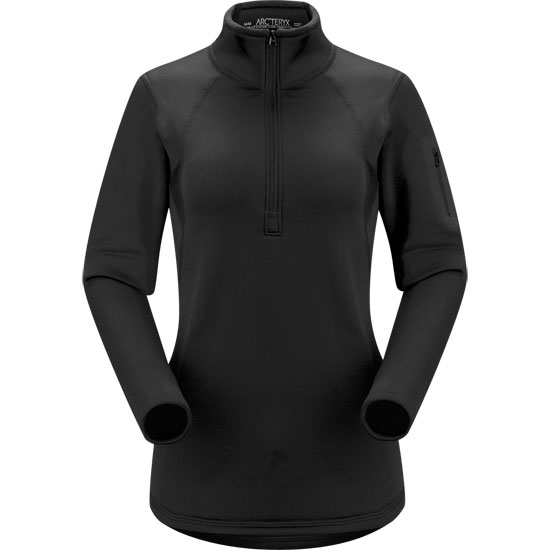 Arc'teryx Rho AR Zip Neck W - Black