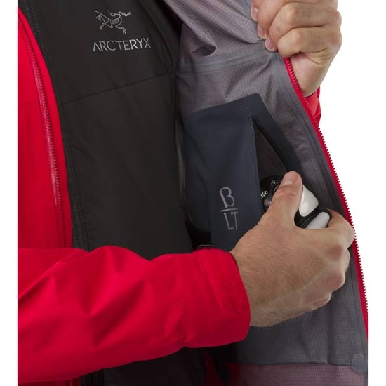 Arc'teryx Beta LT Jacket - Photo of detail