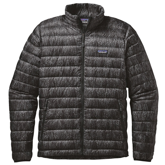 Patagonia Down Sweater - Forestland/Black