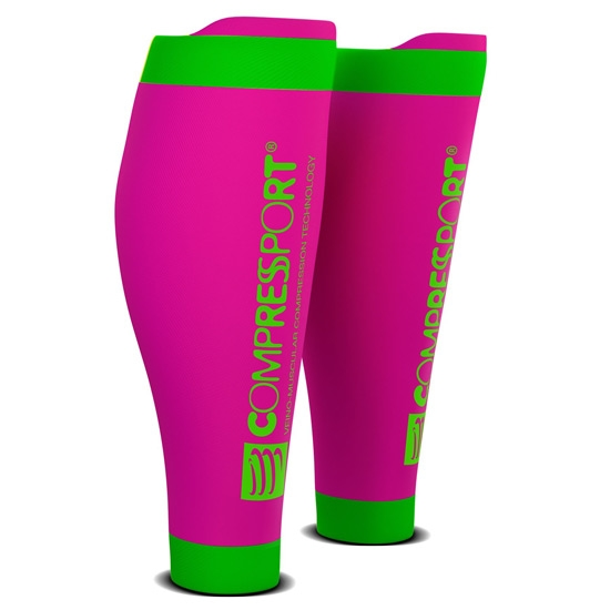 Compressport R2 V2 - Fluor Pink