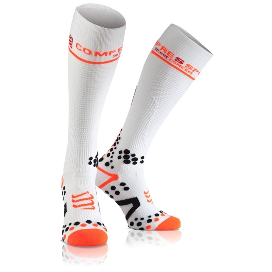 Compressport Full Socks V2.1 - Blanco