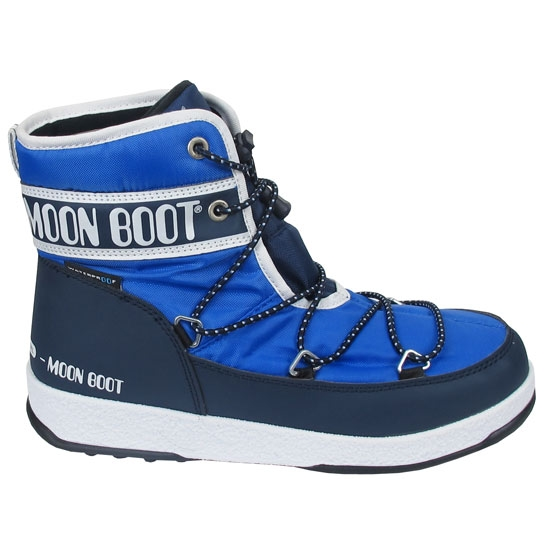 Moon Boot Moon Boot We Mid WP Jr - Royal Blue/Navy