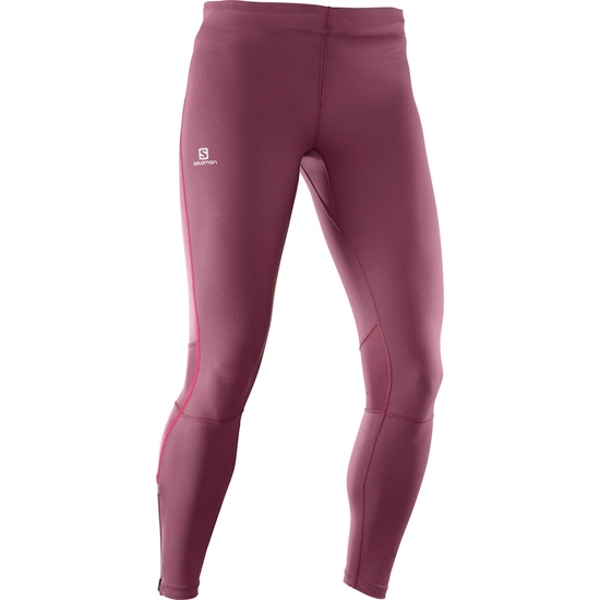 Salomon Agile Long Tight W - Fig