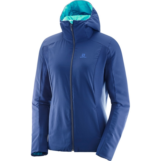 Salomon Drifter Mid Hoodie W - Photo of detail