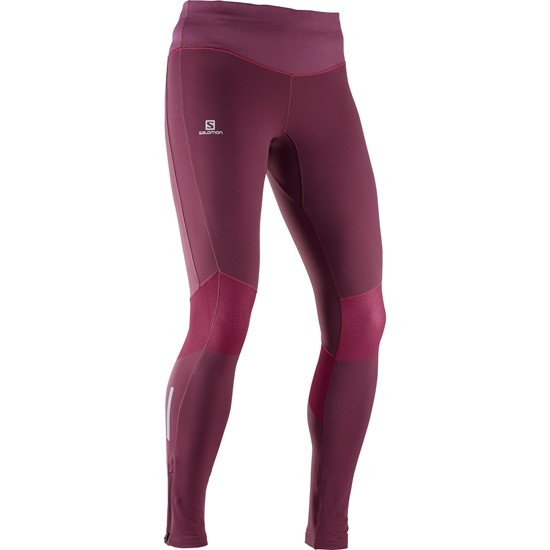 Salomon Elevate Warm Tight W - Fig
