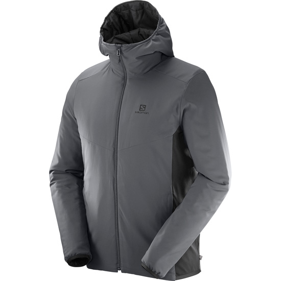Salomon Drifter Mid Hoodie - Photo of detail