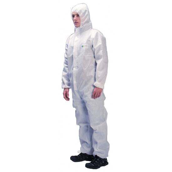 Irudek Protex Basic 100 talla L - Blanco