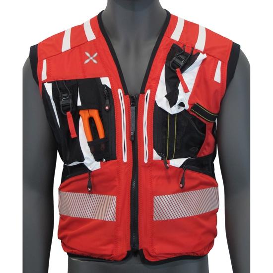 Montura Workframe Operator Evo Vest - Rojo