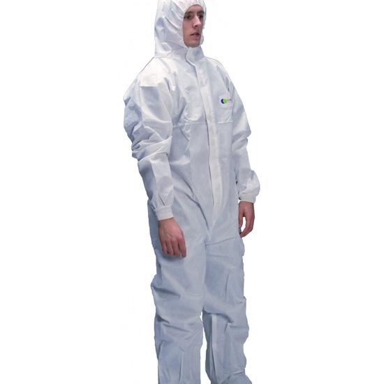 Irudek Protex FR3000 talla M - Blanco