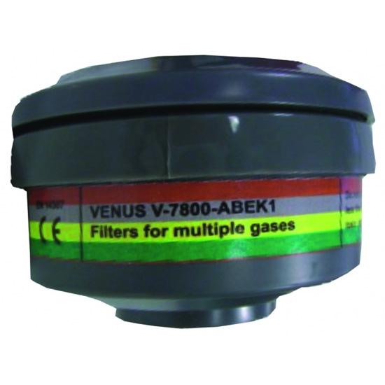 Irudek Iru 7800 Gases Combinados ABEK1 - Marrón/Gris/Amarillo/Verde