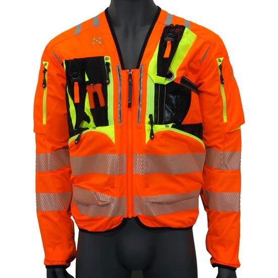 Montura Workframe Operator CE Evo Jacket - Naranja