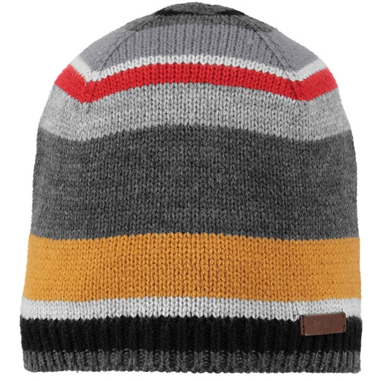 Barts Stitch Beanie - Dark Heather