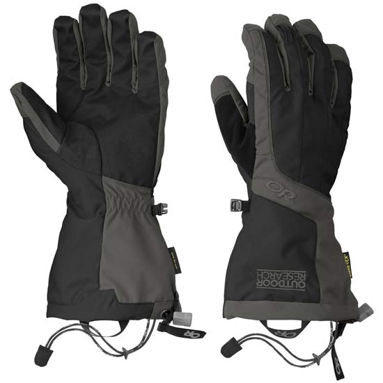 Outdoor Research Arete Gloves - Black/Cahrcoal