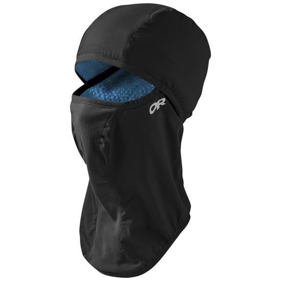 Outdoor Research Ascendant Balaclava - Black/Tahoe