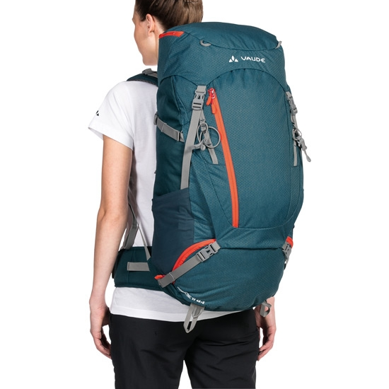 Vaude Asymmetric 48+8 W - Photo of detail