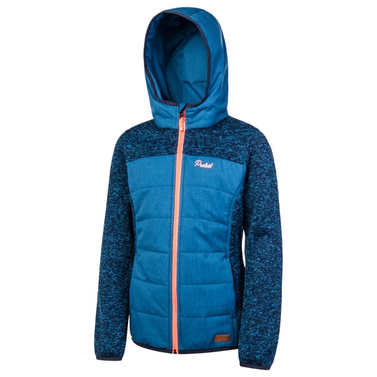 Protest Indras Full Zip Hoody Jr - Ground Blue