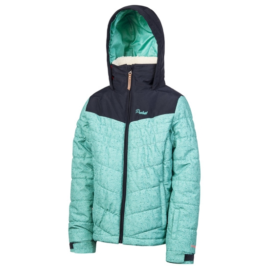 Protest Janette Snowjacket Jr - Cold Jade