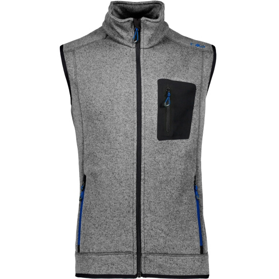 Campagnolo Knitted Vest - Antracite/Royal