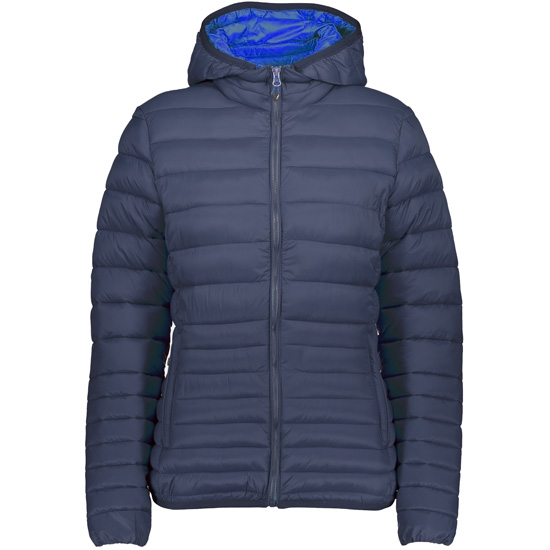 Campagnolo Thinsulate Zip Hood W - Blue/Cobalto