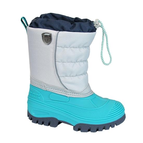 Campagnolo Hanki Snow Boots Kids - Argento/Curacao