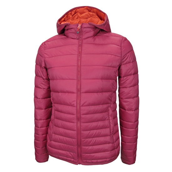 Campagnolo Thinsulate Zip Hood Jacket W - Wine/Bitter