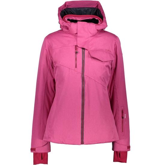 Campagnolo Zip Melange Hood W - Hot Pink Melange