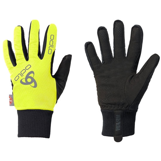 Odlo Gloves Windstopper Classic - Safety Yellow/Black