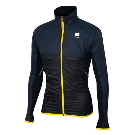 Sportful Cardio Wind Jacket - Black Iris/Black