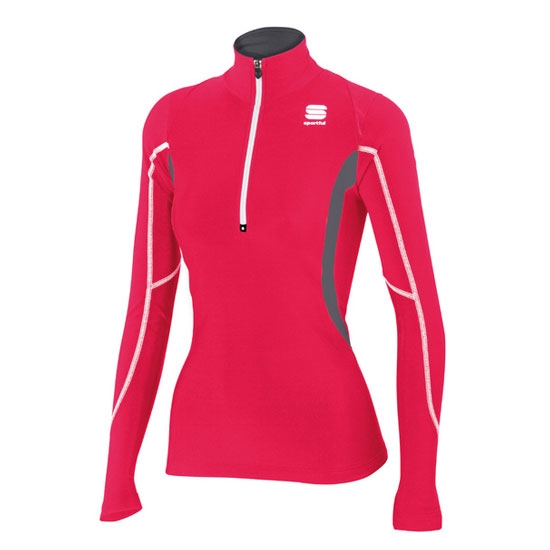 Sportful Cardio Top W - Cherry/Dark Grey