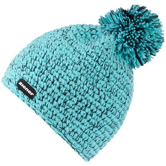 Ziener Intercontinental Hat - Blue Aqua