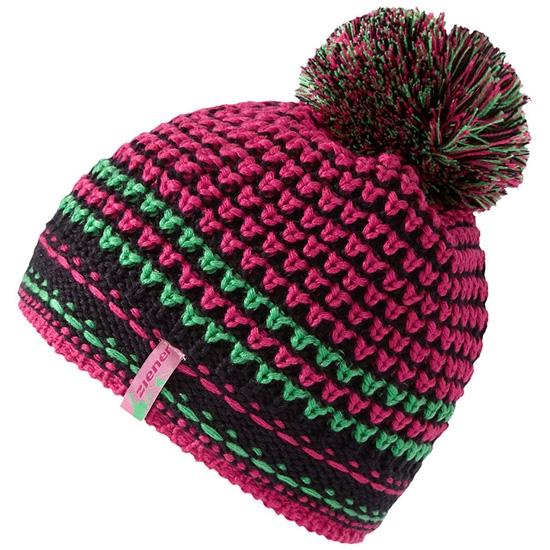 Ziener Itaka Hat - Pink Blossom/Bright Green