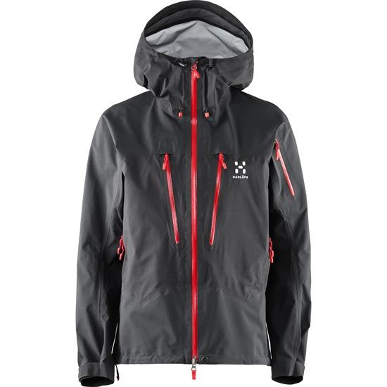 Haglöfs Spitz Jacket W - True Black/Real Red