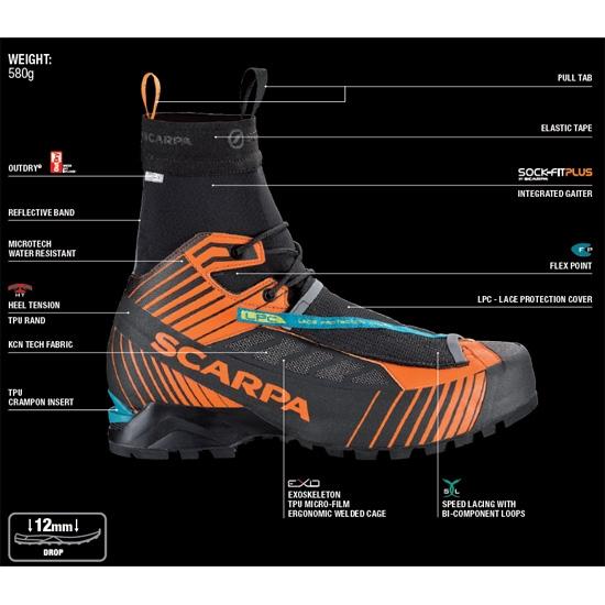 Scarpa Ribelle Tech OD - Photo de détail