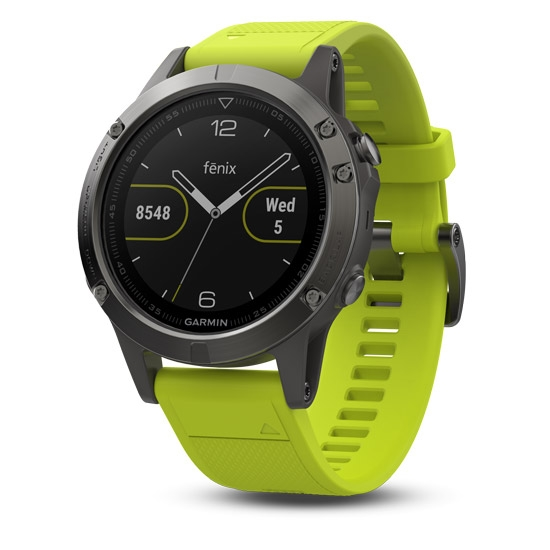 Garmin Fenix 5 - Yellow/Grey
