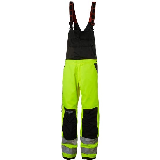 Helly Hansen Workwear Alna Bib - Yellow/Charcoal