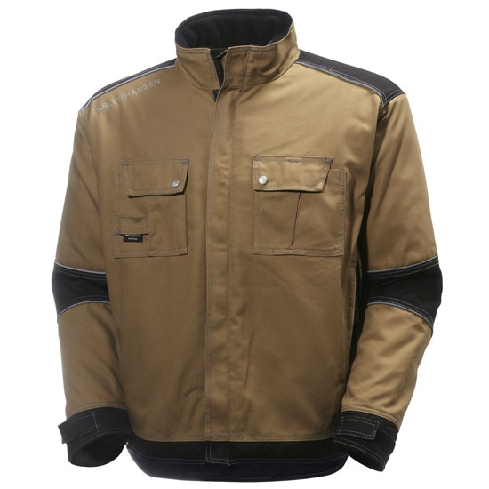 Helly Hansen Workwear Chelsea Lined Jacket - Timber/Black
