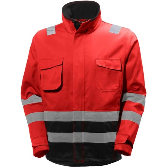 Helly Hansen Workwear Alna Jacket - Red/Charcoal