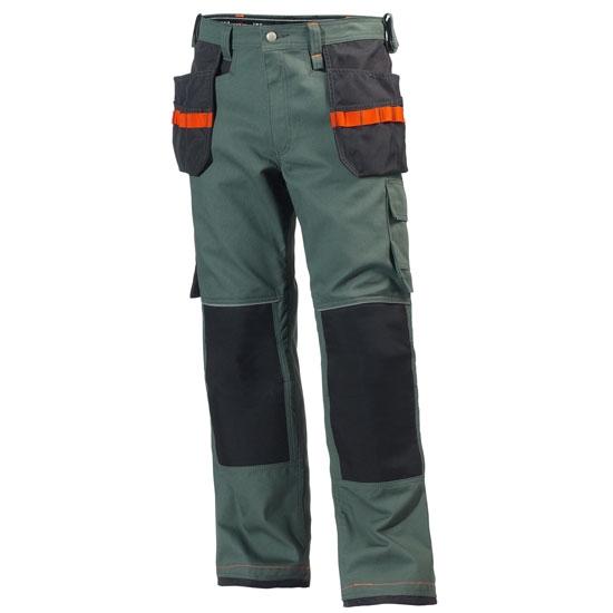 Helly Hansen Workwear Chelsea Kevlar Construction Pant - Rock/Charcoal