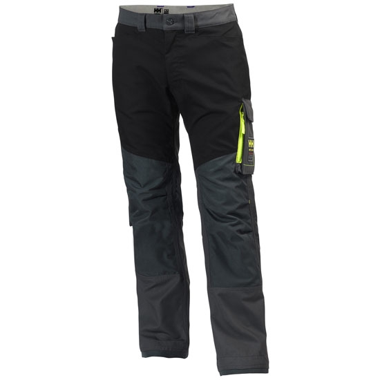 Helly Hansen Workwear Aker Work Pant - Dark Grey/Black