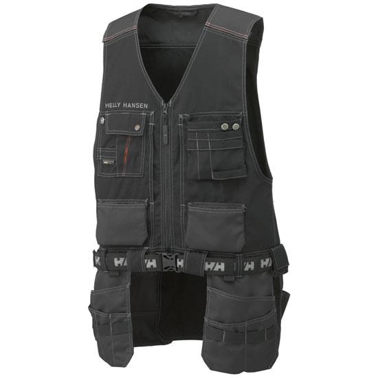 Helly Hansen Workwear Chelsea Construction Vest - Black/Charcoal