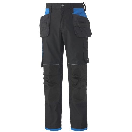 Helly Hansen Workwear Chelsea Construction Pant - Black/Racer Blue