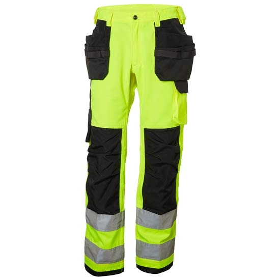 Helly Hansen Workwear Alna Cons Pant CL 2 - Hv Yellow/Charcoal