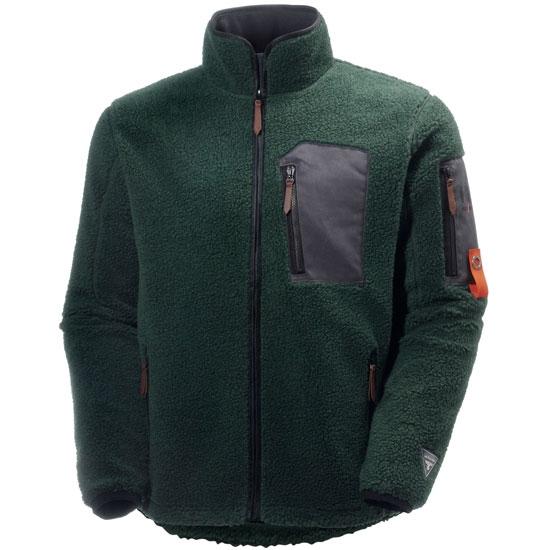 Helly Hansen Workwear MjØlnir Windpile Jacket - Dark Green